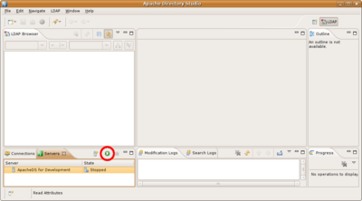 Setting up an LDAP server for your development environment